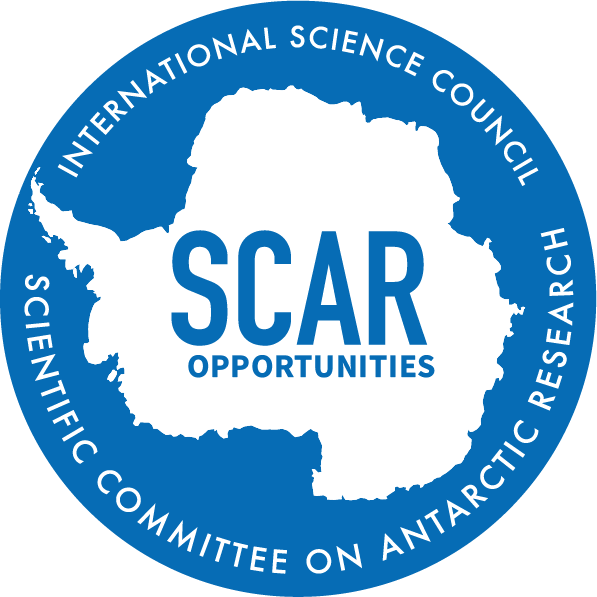 SCAR logo opportunities blue
