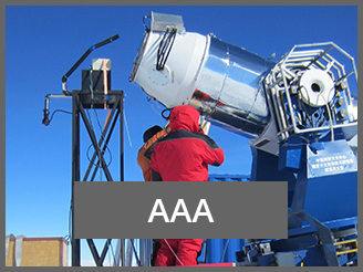 AAA Project AAA Z.Shang telescope fieldwork