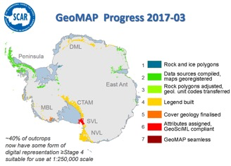 GeoMap Progress 2017