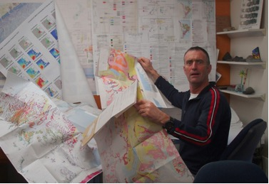 Simon Cox and maps