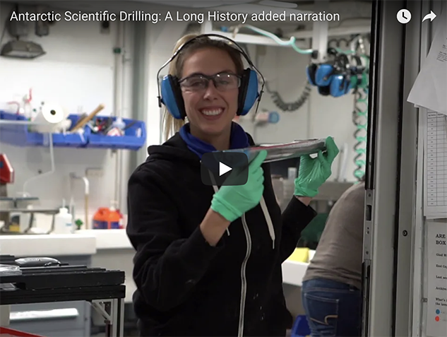PAIS Antarctic Scientific Drilling A Long History added narration