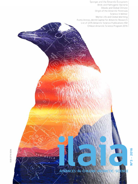 Front cover of the 2016 Chilean ILAIA publications from
