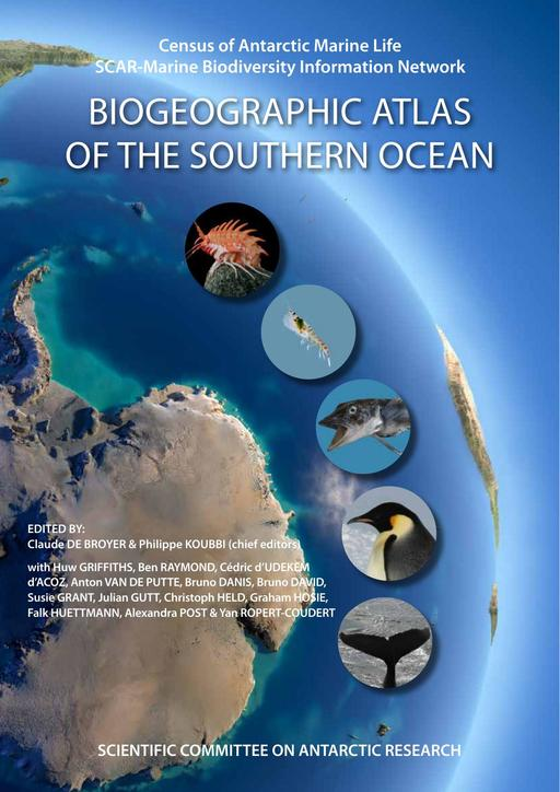 The CAML/SCAR-MarBIN Biogeographic Atlas of the Southern Ocean, Flyer