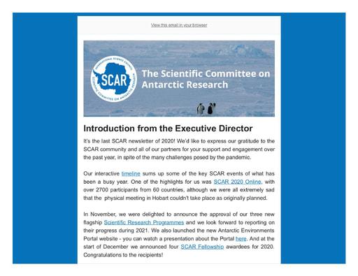 SCAR Newsletter December 2020