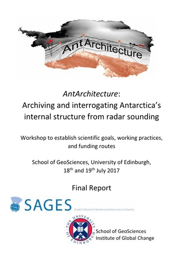 Report of AntArchitecture Workshop, July  2017