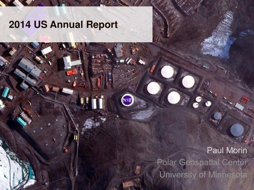 National Report to SCAGI from the USA, August 2014