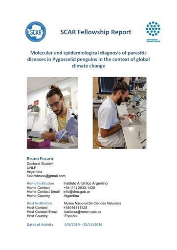 Bruno Fusaro 2018 Fellowship Report