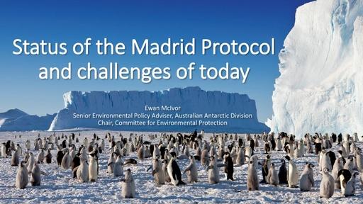 Ewan McIvor's presentation on the Status of the Madrid Protocol