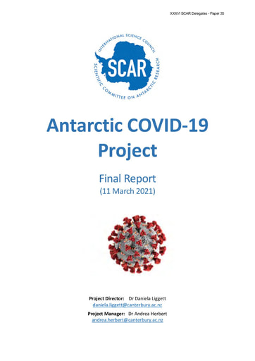 SCAR XXXVI Paper 35: Antarctic COVID-19 Project - Final Report
