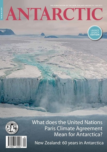 What does the United Nations Paris Climate Agreement Mean for Antarctica? by Tim Naish