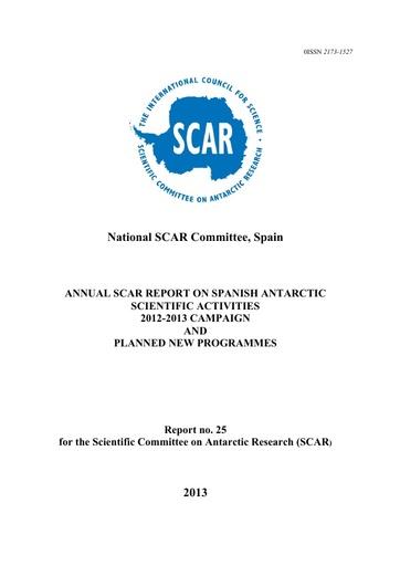 Spain National Report 2012-13