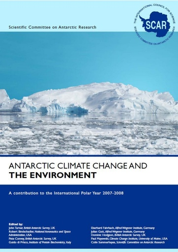 Antarctic Climate Change and the Environment