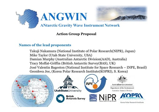 ANGWIN Proposal - Presentation