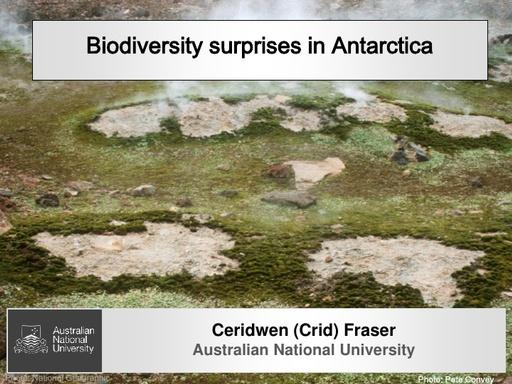 Biodiversity Surprises - Crid Fraser