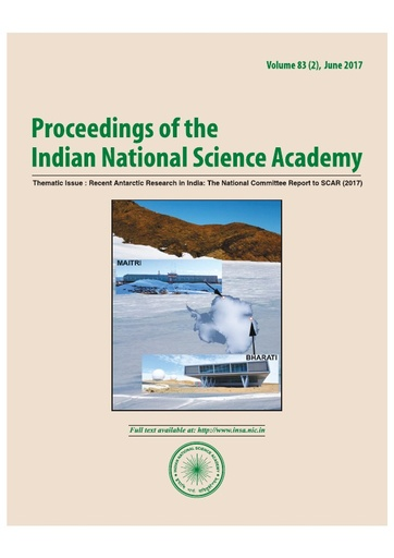 Recent Antarctic Research in India: The National Committee Report to SCAR (2017)