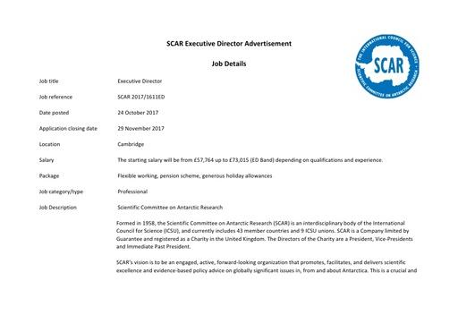 Executive Director Job Details