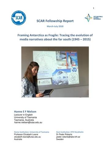 Hanne Nielsen 2017 Fellowship Report