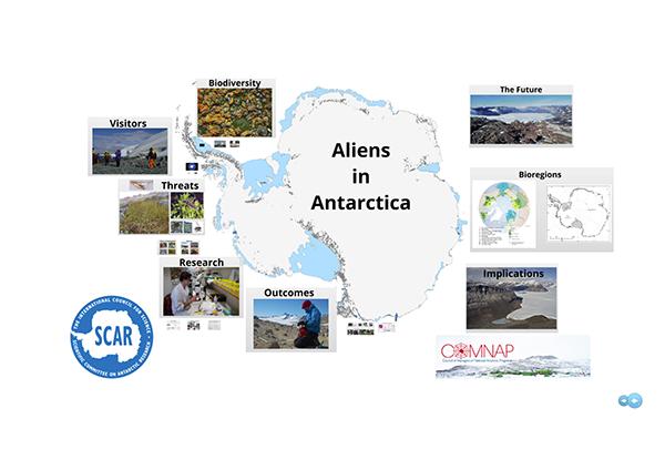 SCAR Lecture 2012: Aliens in Antarctica